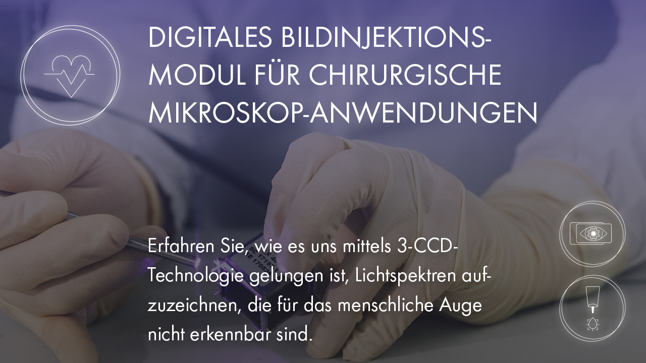 GAW Robooptic machhine vision Medical engineering 3CCD technologie